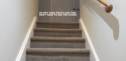 Don't need to see the stairs to request a quote.